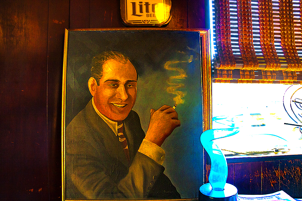 Portrait of Skinny Razor in Friendly Lounge--Italian Market