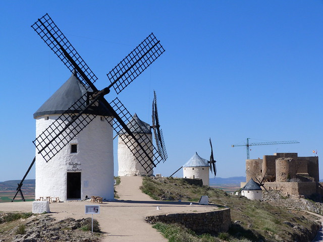 Molinos en Sierra Calderico de Consuegra (Toledo)