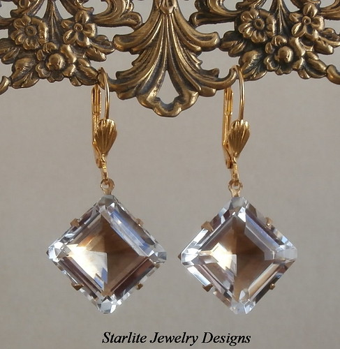 Vintage Square Cut Diamond Engagement Rings