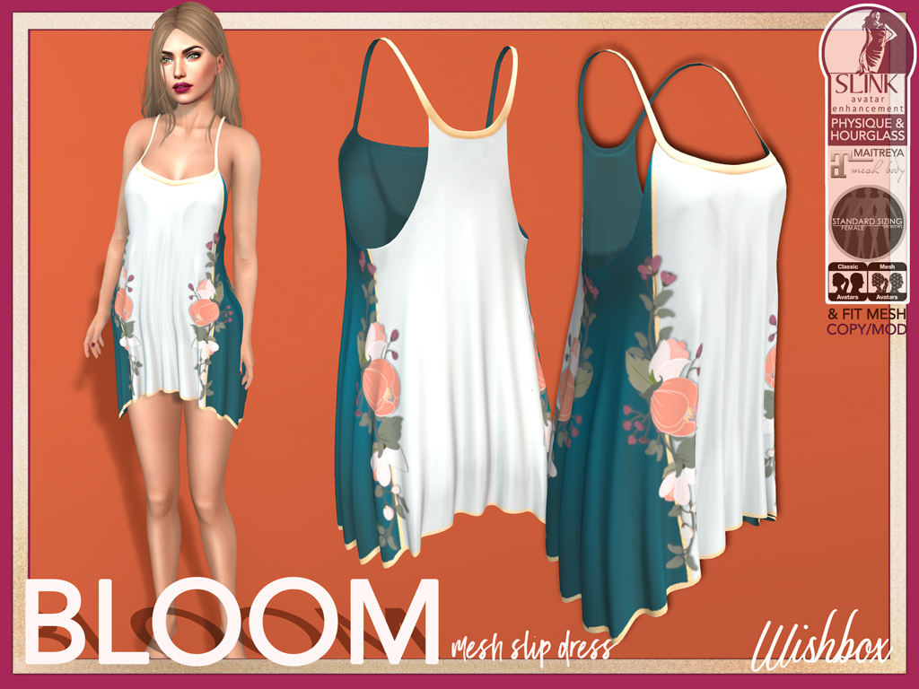 [Wishbox] Bloom (Teal)