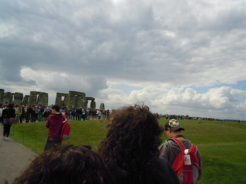 Start of the line. From Studying Abroad in London: A Trip to Stonehenge