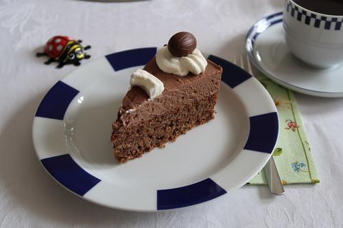 Schokoladentorte (mein Stück)