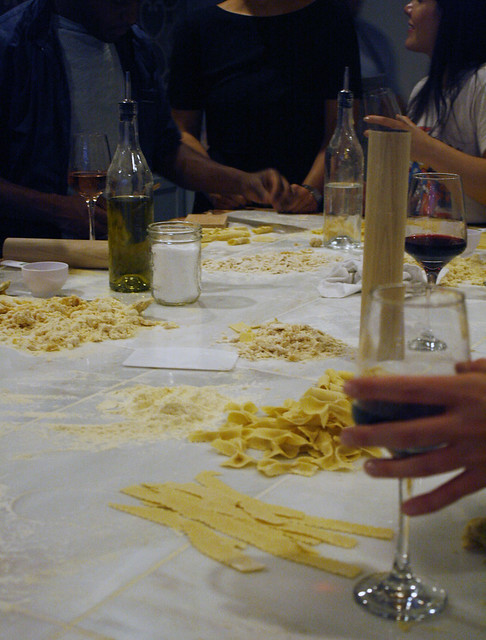 Pasta Class at Aunt Jake's
