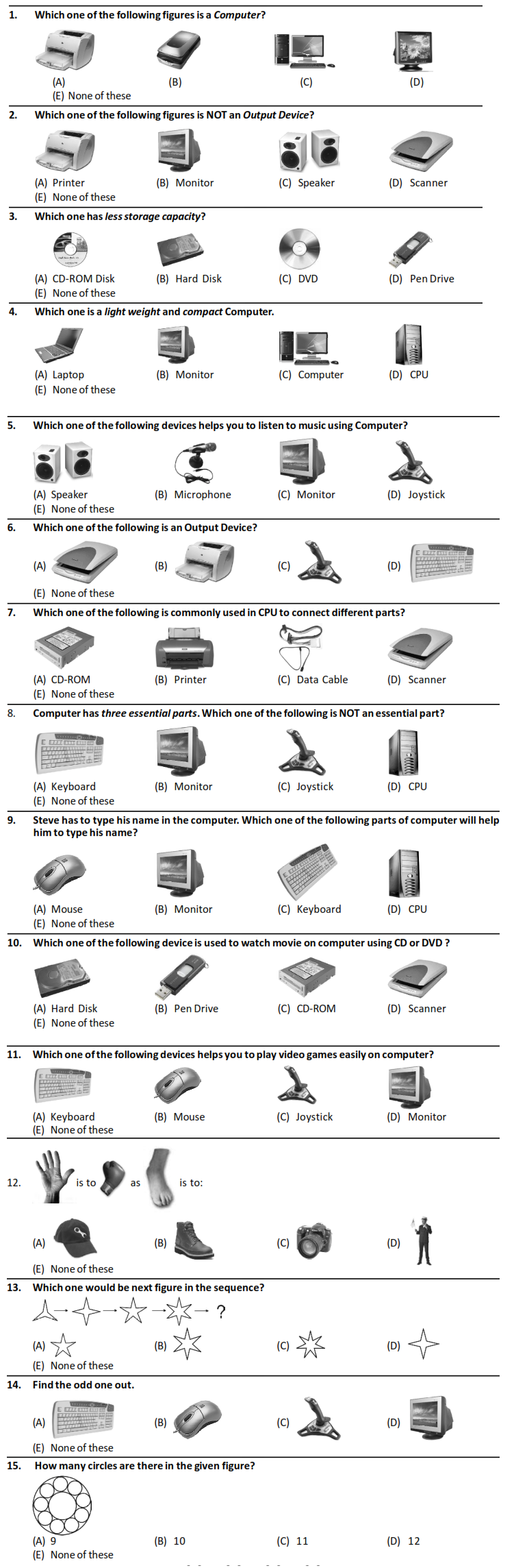 Silverzone iiO Syllabus and Sample Papers for Class 1 – AglaSem Schools