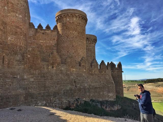 Sele en el castillo de Belmonte