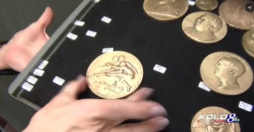 Medallic art video clip1 Medal archive
