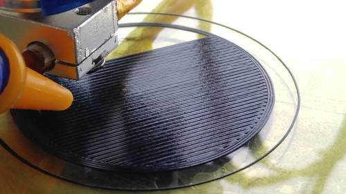 第一層平整打印