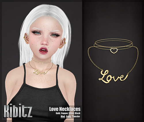 kibitz love necklace
