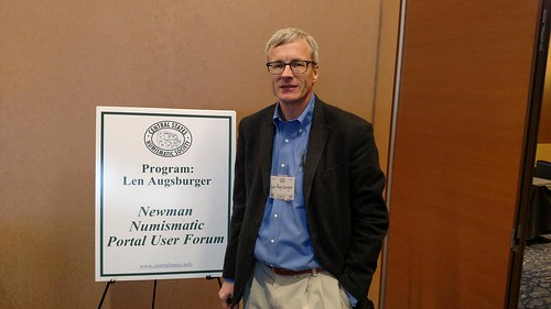 Len Augsburger at 2017 Central States Newman Portal User Forum