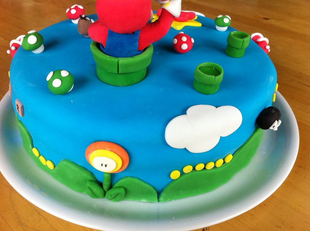 super mario bros torte super mario bros torte flickr. Black Bedroom Furniture Sets. Home Design Ideas