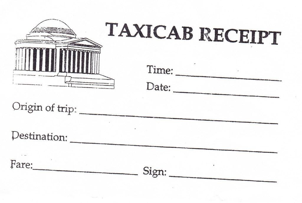 Taxi Receipt | Ernest Salazar | Flickr