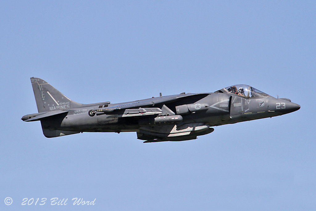 Mcdonnell Douglas Av 8b Harrier Ii 164545 We 23 Vma 214 Bl
