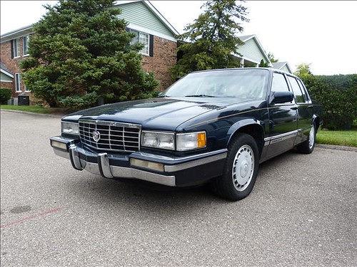 1991 cadillac deville touring sedan note the genuine. Cars Review. Best American Auto & Cars Review