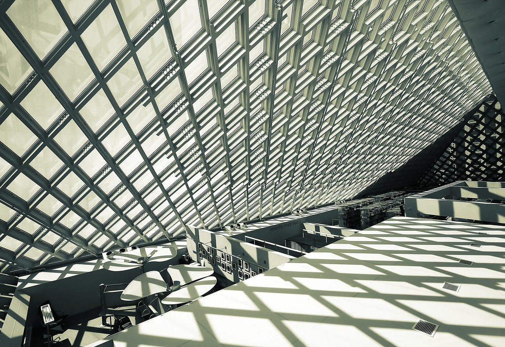 Seattle Central Library   Seattle, Washington   Lue Huang ...