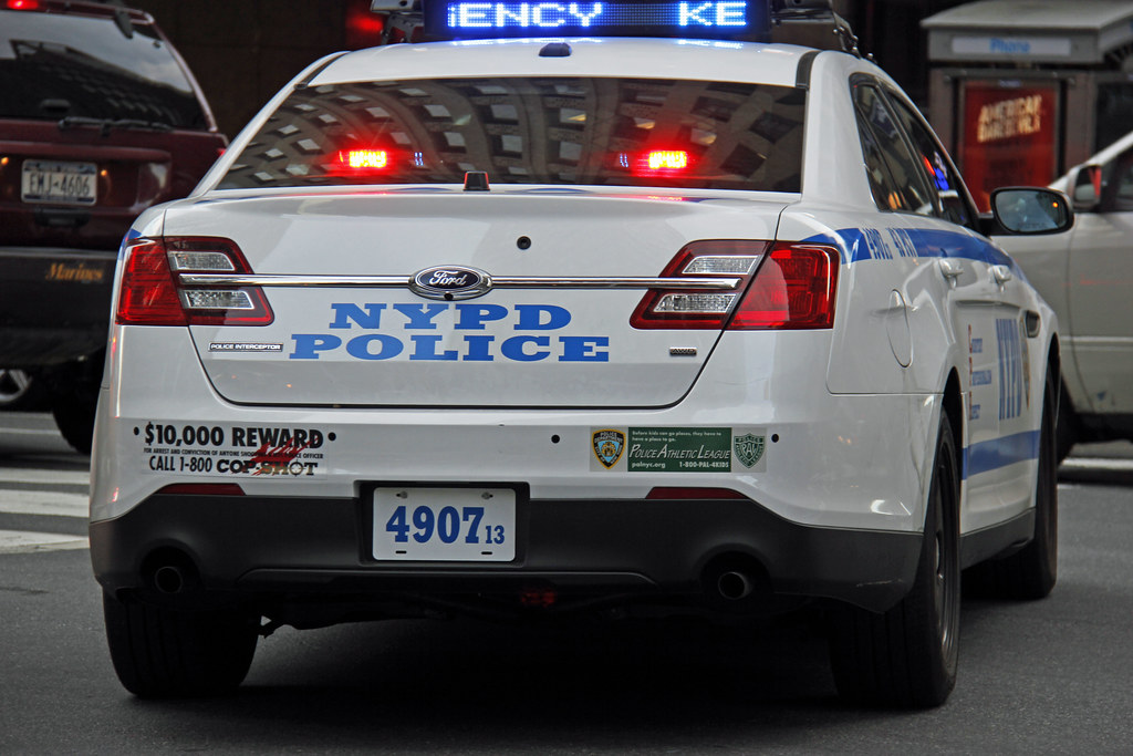 Picture Of New Nypd 2013 Ford Taurus Police Interceptor Ca