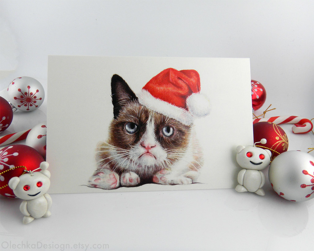 Grumpy Santa Holiday Christmas Card | Grumpy Santa Holiday C… | Flickr
