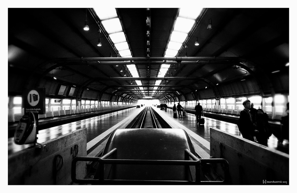 Station | Fiumicino Airport, Rome | marchantvii | Flickr