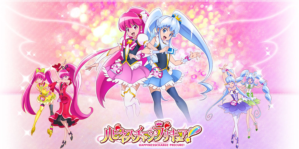 140104 -『光之美少女』10週年紀念大作《Happiness Charge PRECURE!》於2/2首播在即、四位主角聲優出爐!