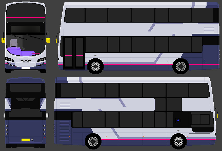 Wright StreetDeck | Inevitable? This shows if FirstBus' stan… | Flickr
