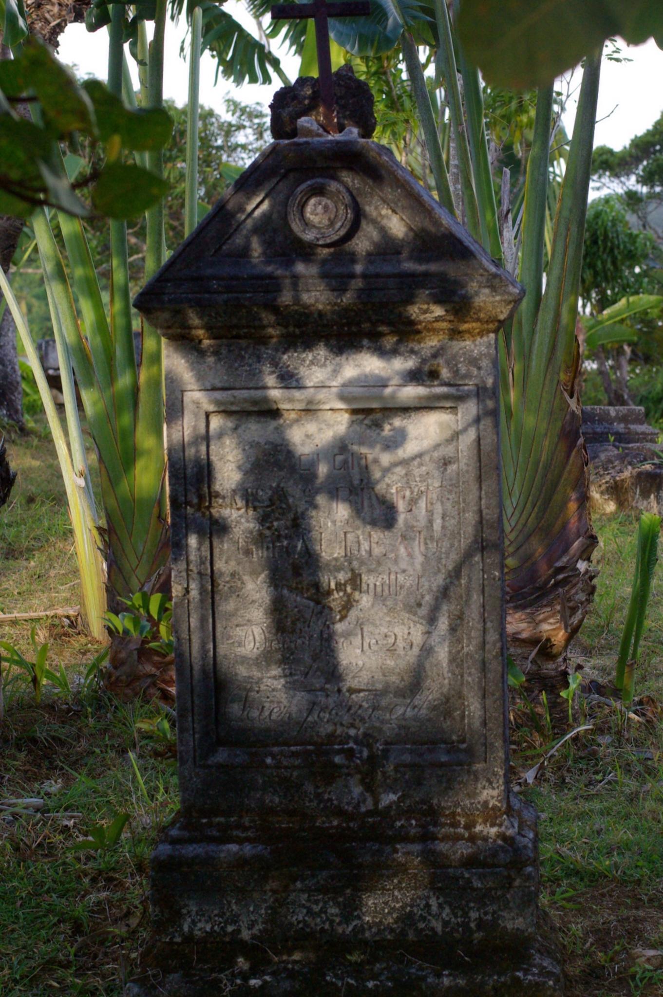 Cimetière de pirates à l'île Sainte Marie