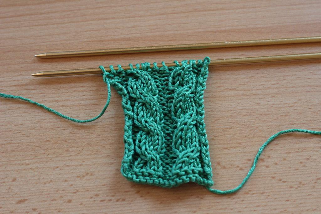 Tricoter des torsades sans aiguille auxiliaire knitspirit flickr - Tricoter sans aiguilles ...