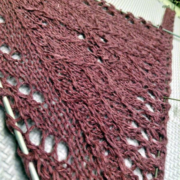 Lichen kerchief blocking