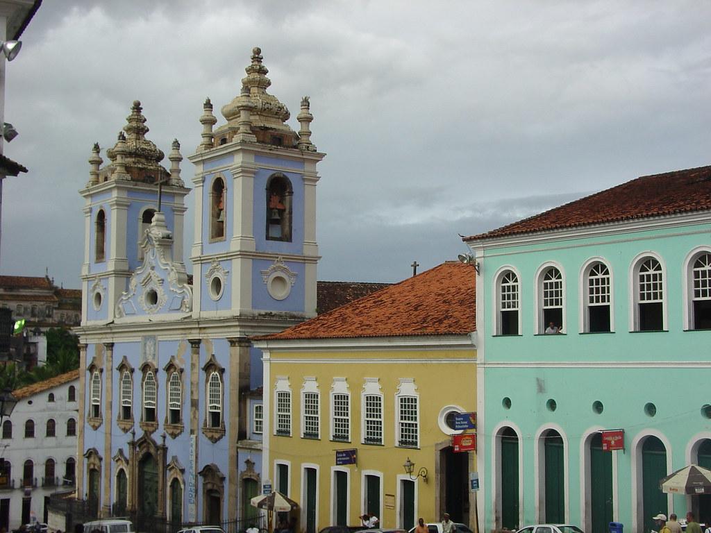 Vagamundos 2004. Brasil. Salvador de Bahia y Morro de Sao Paulo