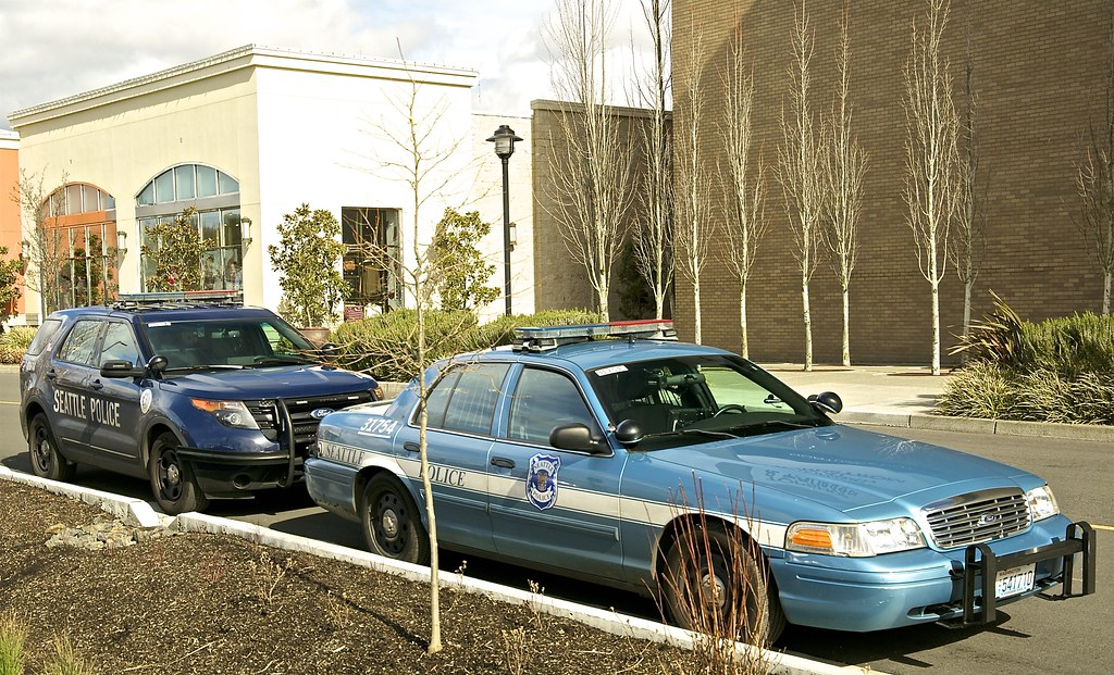 Seattle Police Department Ford Crown Vic Poice Intercept Flickr