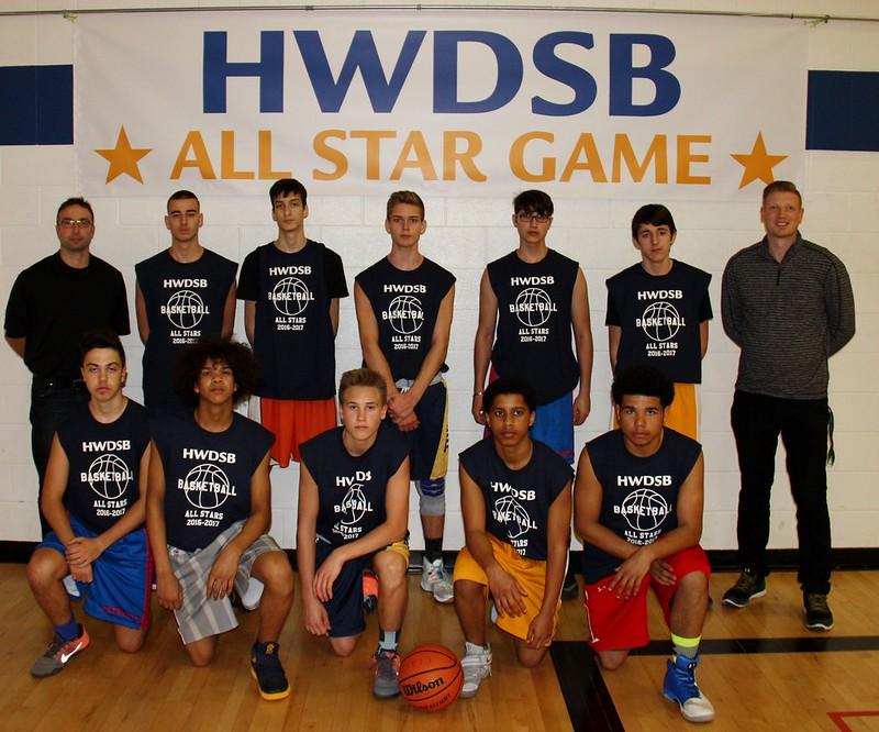 2016-17 Boys Basketball All-Star Game