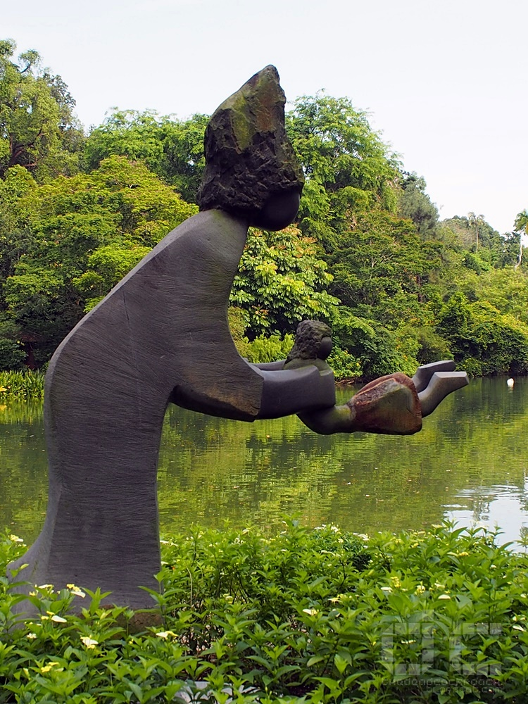 botanic gardens, singapore, singapore botanic gardens, swan lake, tanglin gate, where to go in singapore, sbg,unesco,sculpture