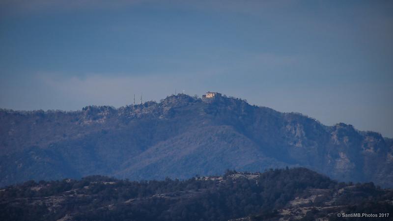 Bellmunt desde el GR-151, cerca del Campàs