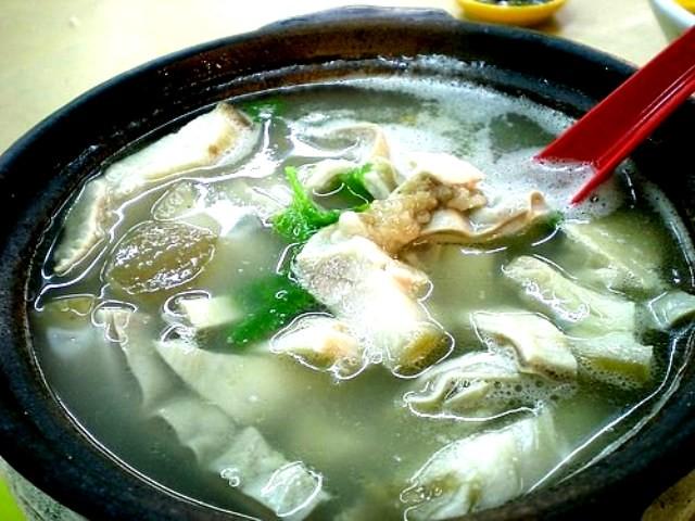 Pork innard soup Damansara Uptown
