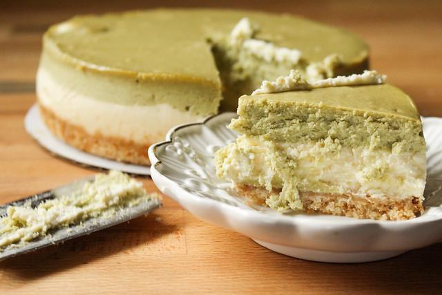 President's Choice Matcha Green Tea Cheesecake