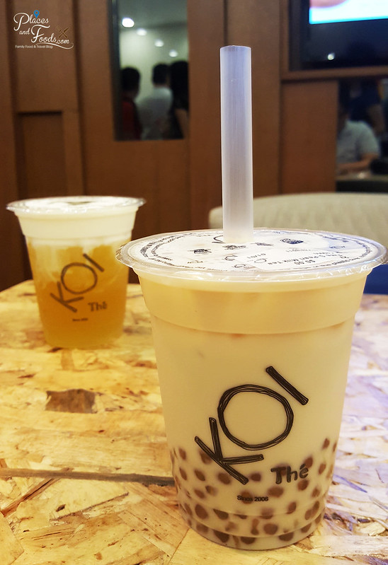 koi malaysia golden bubble tea