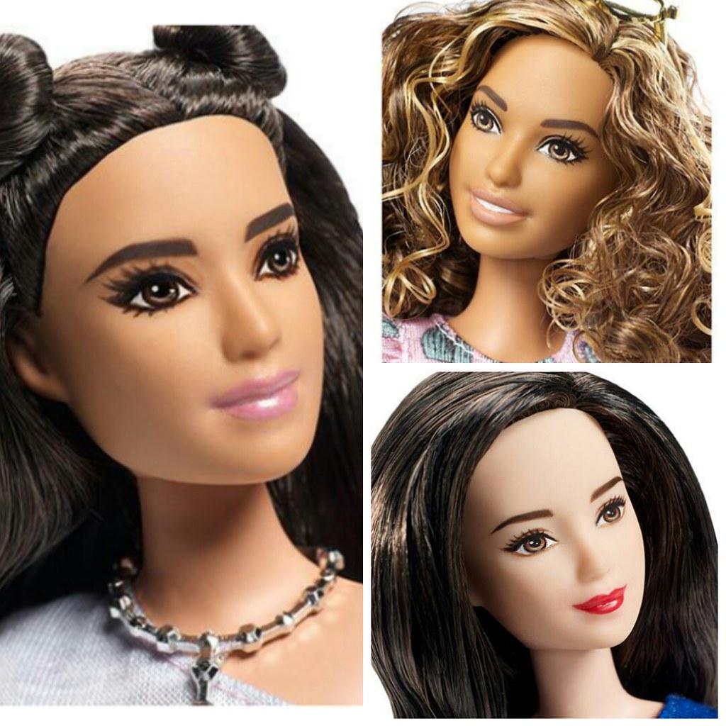 Fashion report 2017 - Barbie Fashionistas 2017 Peon Pedrise Flickr