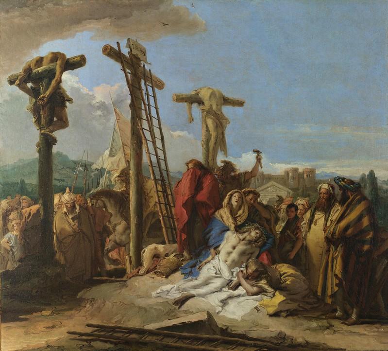 Giovanni Domenico Tiepolo - The Lamentation at the Foot of the Cross