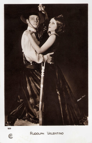 Rudolph Valentino and Natacha Rambova