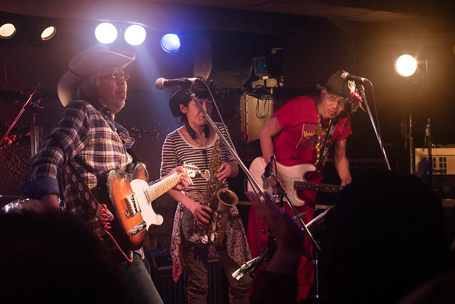 Yoshimitsu Kasuga's 60th birthday live at Manda-La 2, Tokyo, 03 Apr 2017 -00294