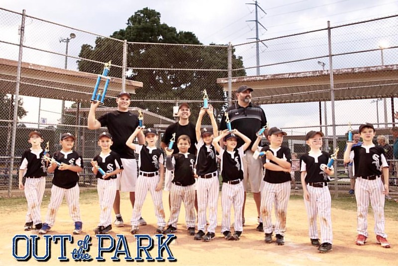 These boys played like champions tonight!!! Here's to a great season White Sox!! In the end of the final we were behind a couple runs unfortunately, but it wasn't for lack of anything from these boys. They should all be proud! #baseballlife⚾️:hear