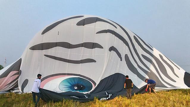 Lubao International Balloon FestivaTravel Philippines Pampanga Summer Duane Bacon Deflate