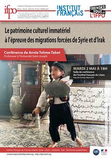 Le patrimoine culturel immatériel à l'épreuve des migrations forcées de Syrie et d'Irak