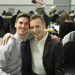 Randy Grundmann and Isaac Smit
