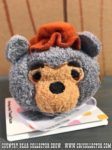 2017 Disney Tsum Tsum Mini Big Al - Country Bear Collector Show #098