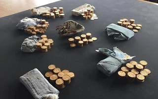 Piano gold coin hoard