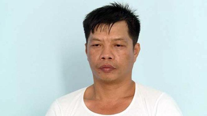 Đối tượng Phạm Hữu Tấn - Ảnh: CTV