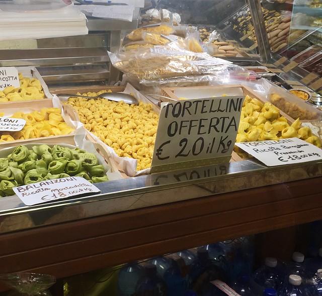 Pasta in Bologna