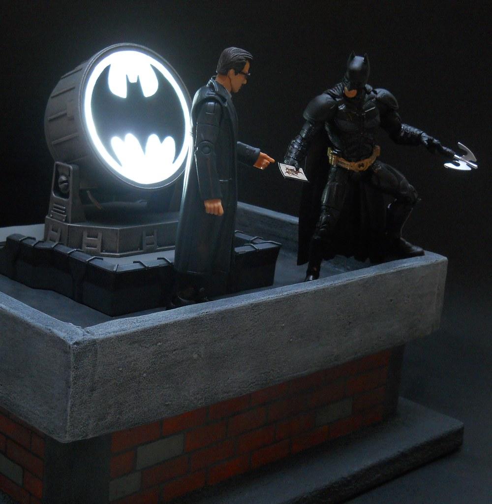 Quot I Ll Look Into It Quot Batman Rooftop Diorama Finished A
