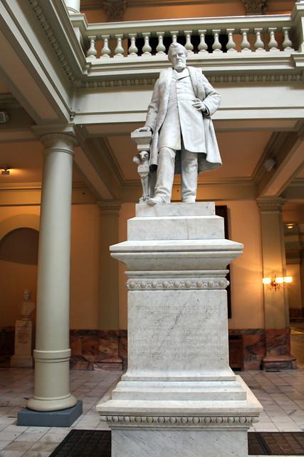 Atlanta Downtown Georgia State Capitol Benjamin