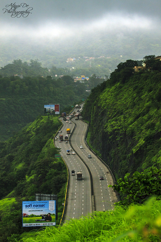 Mumbai Pune Express Highway | Taken from Shooting Point ...
