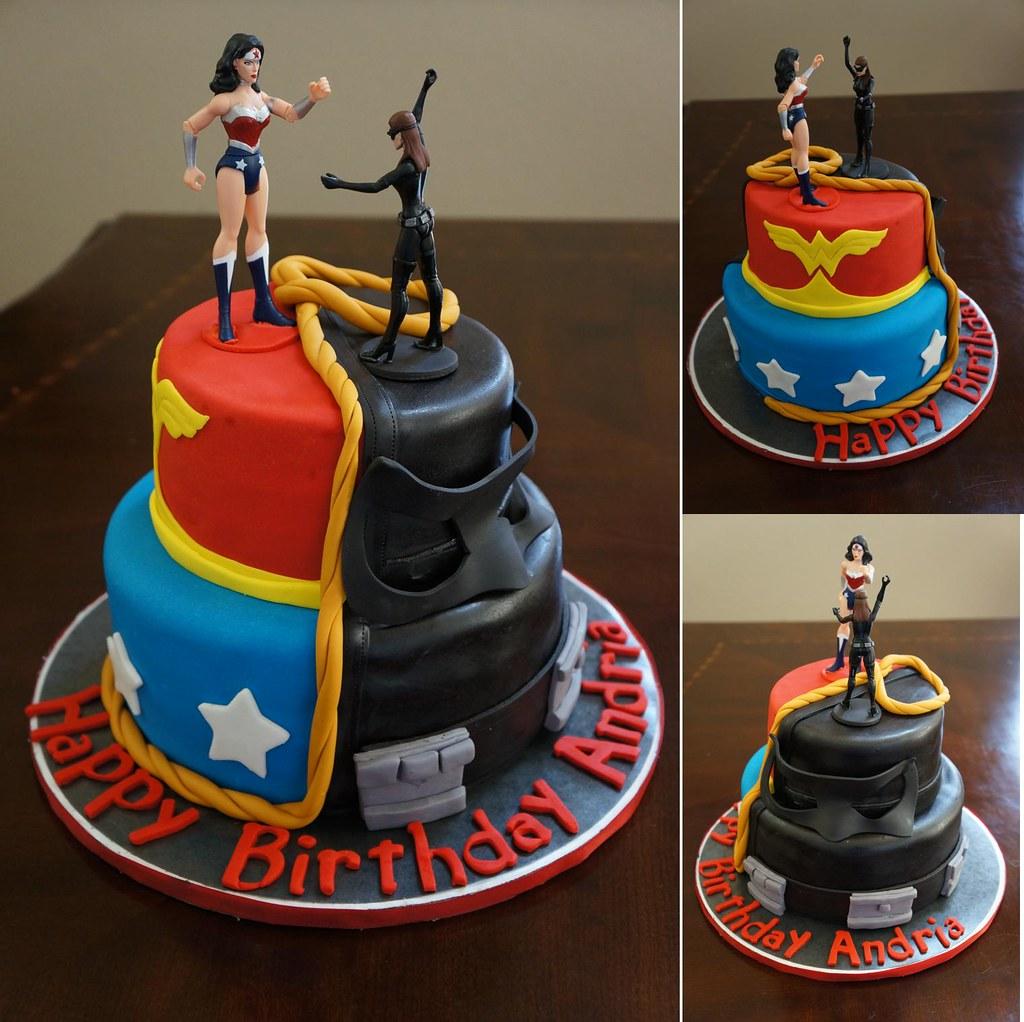 Birthday Cake Catwoman